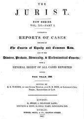 The Jurist ..: Volume 12, Part 1