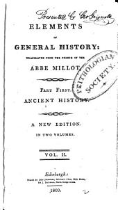 Elements of General History: Volume 2