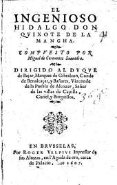 El ingenioso hidalgo Don Quixote de la Mancha: 1