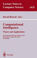 Computational Intelligence  Theory and Applications PDF