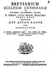 Breviarium ecclesiae Lutheranae