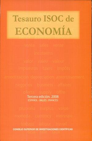 Tesauro ISOC de economía