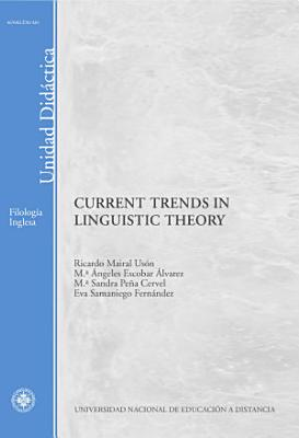 Current Trends in Linguistic Theory PDF