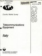 Telecommunications Equipment, Italy