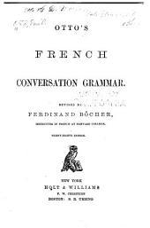 Otto's French Conversation Grammar