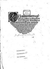 SUmma contra ge[n]tiles q[uam] aptissime malleus hereticoru[m] nu[n]cupata. diuinissimi ac angelici doctoris s[an]cti Thome aquinatis iamdudu[m] ... inemendata ... nu[n]c vero per ... Theodericu[m] de Susteren. insignis [con]uentus Colonie[n]sis ordinis predicato[rum] multis iam annis regente[m] ... restituta ... [et] castigata ... feliciter incipit