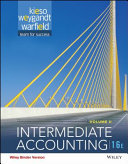 Intermediate Accounting, Sixteenth Edition Volume 2 Binder Ready Version