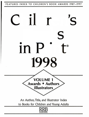 Children s Books in Print 1998