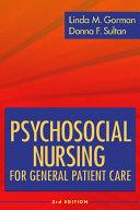 Psychosocial Nursing For General Patient Care