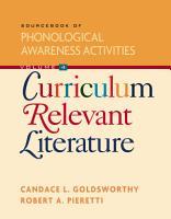 Sourcebook of Phonological Awareness Activities PDF