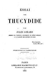 Essai sur Thucydide