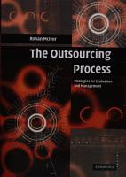 The Outsourcing Process PDF
