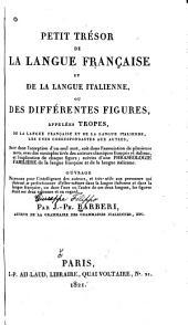 Petit trésor de la langue française et de la langue italienne