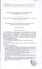 Regional Economic and Infrastructure Development Act of 2007 PDF