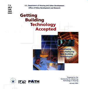 Getting Building Technology Accepted PDF