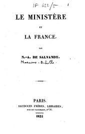 Le ministère et la France