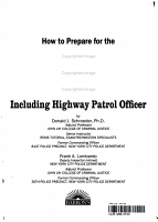 How to Prepare for the State Trooper Examinations PDF