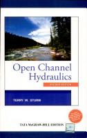 Open Channel Hydraulics 2e PDF