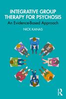 Integrative Group Therapy for Psychosis PDF
