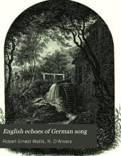 English Echoes of German Song