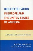 Higher Education in Europe and the United States of America PDF
