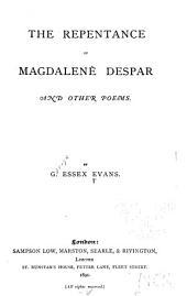 The Repentance of Magdalene Despar and Other Poems