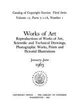 Catalog of Copyright Entries: Third series