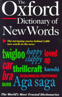 The Oxford Dictionary of New Words PDF