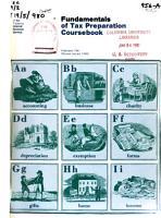 Fundamentals of Tax Preparation PDF
