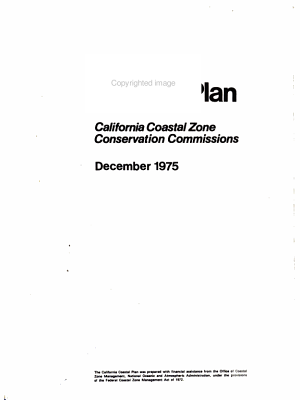 California Coastal Plan