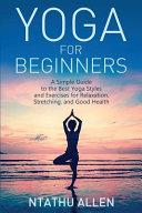 Yoga for Beginners PDF