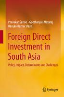 Foreign Direct Investment in South Asia PDF