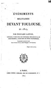 Événements militaires devant Toulouse, en 1814