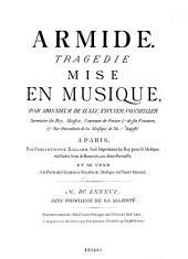 Jean Baptiste de Lully's Armide und Alessandro Scarlatti's La Rosaura