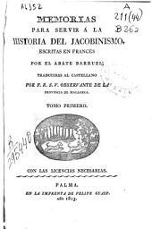 Memorias para servir a la historia del Jacobinismo: (8, XX, 294 p.)