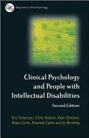 Clinical Psychology and People with Intellectual Disabilities PDF