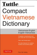 Tuttle Compact Vietnamese Dictionary Book PDF