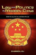 Law and Politics in Modern China