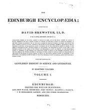 The Edinburgh Encyclopaedia: Volume 1
