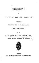 Sermons on the Song of Songs PDF