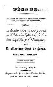 Colección de artículos dramáticos, literarios, políticos y de costumbres: Volúmenes 1-3