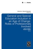 General and Special Education Inclusion in an Age of Change PDF