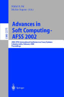 Advances in Soft Computing - AFSS 2002