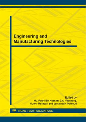 Engineering and Manufacturing Technologies PDF