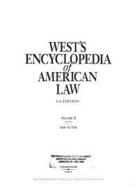 West s Encyclopedia of American Law PDF