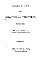 Selections from Herodotus and Thucydides