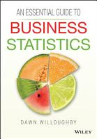 An Essential Guide to Business Statistics PDF