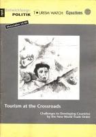 Tourism at the Crossroads PDF
