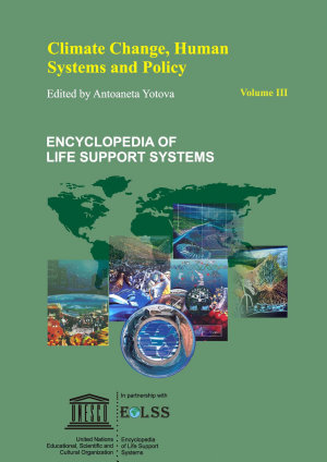 Climate Change  Human Systems  and Policy   Volume III PDF