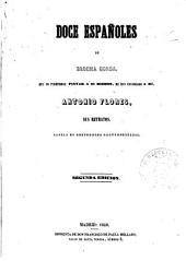 Doce españoles de brocha gorda: novela de costumbres contemporáneas